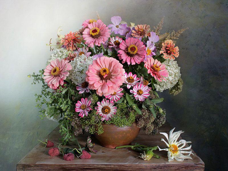 натюрморт,цветы,лето,вера павлухина, Июльские солнышкиphoto preview