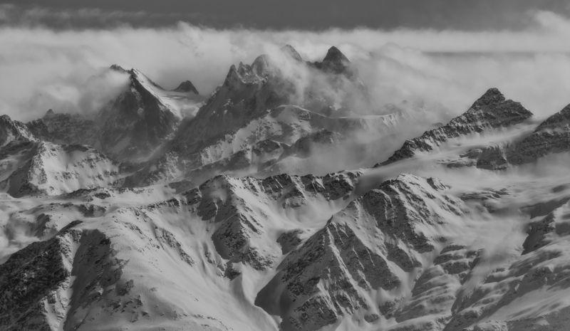 кбр, приэльбрусье. Гора Ушба.photo preview