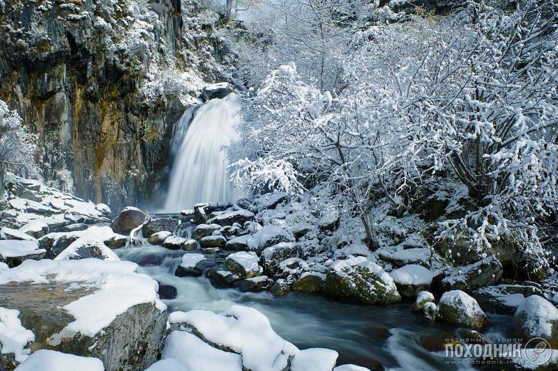 Водопад Корбу. Горный Алтайphoto preview