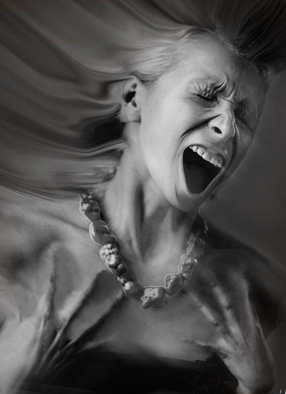 эдуард басов, чб, чернобелая фотография, портрет, студийная съемка, портрет в стиле арт-шокphoto preview