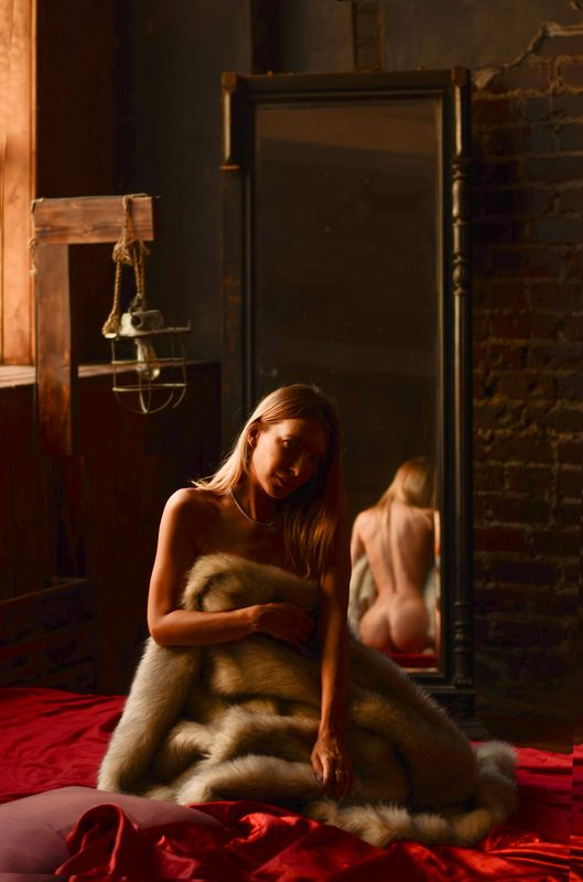reflaction nude art red bodyline Reflactionphoto preview
