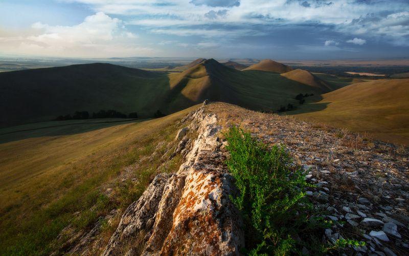 долгие горы, южный урал, урал, горы, утро, рассвет, пейзаж, рельеф, оренбург, пейзажи россии Долгие горыphoto preview