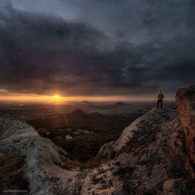 бештау, закат, кмв, кавказ, ессентуки, пятигорск, горы, орлиныескалы Орлиные скалы Бештауphoto preview