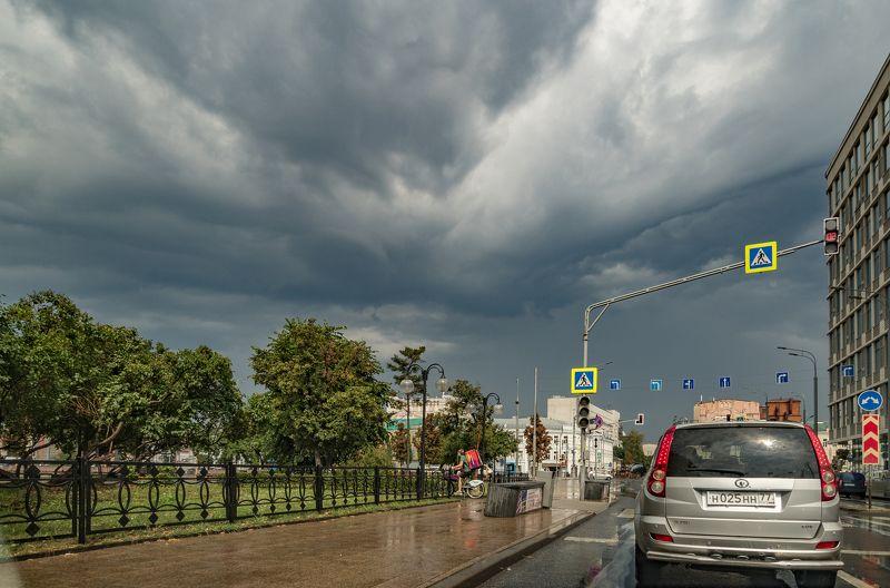 Московские дорожные зарисовкиphoto preview