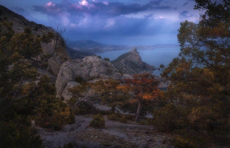 крым, новыйсвет Вечер на пике Космосphoto preview