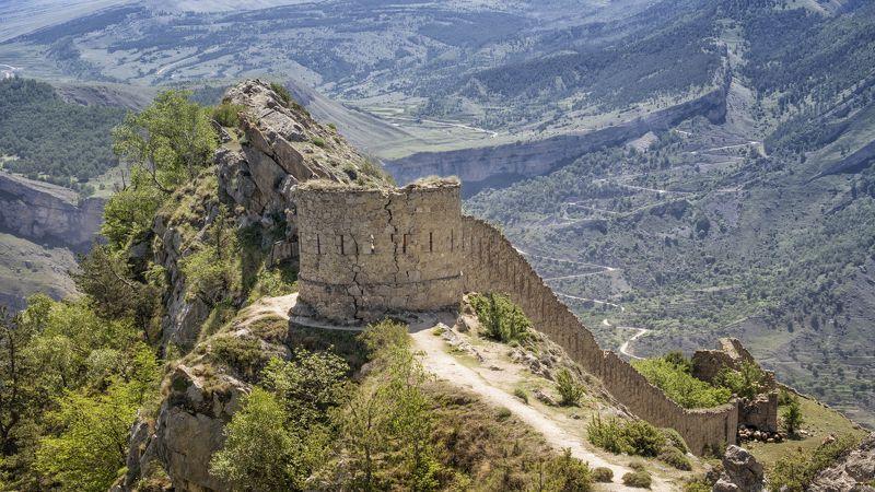 дагестан, гуниб, крепость шамиля. Крепость Шамиля.photo preview
