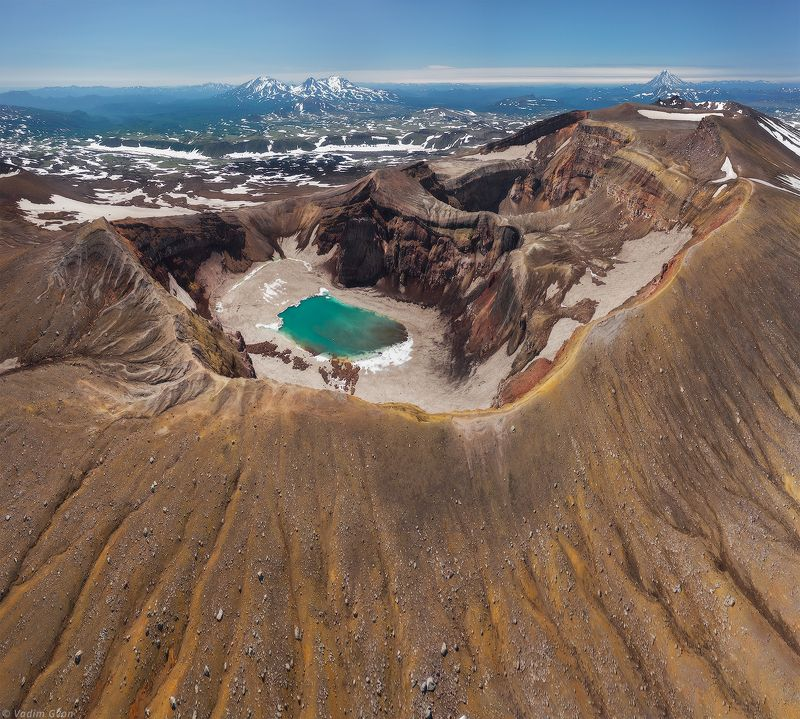 камчатка, kamchatka, горелый, вулкангорелый Кальдера вулкана Горелыйphoto preview
