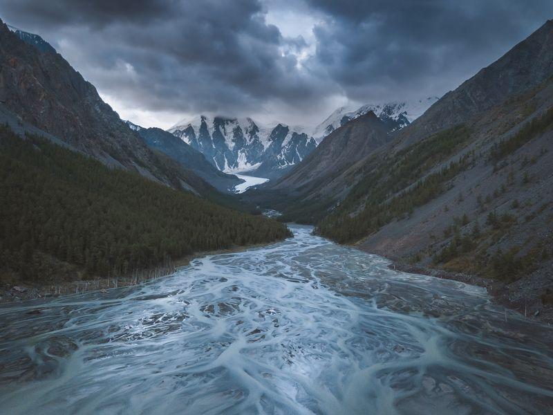 Алтай, Маашей, Горныйалтай, озеро, горы, гроза Перемены в горахphoto preview