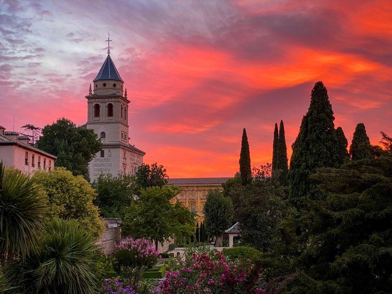 Альгамбра, Гранада, Испания, мавры, дворец, мусульманка культура, средневековье Alhambraphoto preview
