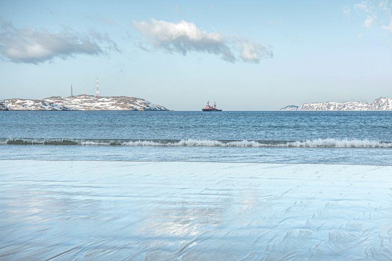 Пейзаж, Северный Ледовитый океан, Териберка, мираж Северный Ледовитый океан - мираж в облакахphoto preview