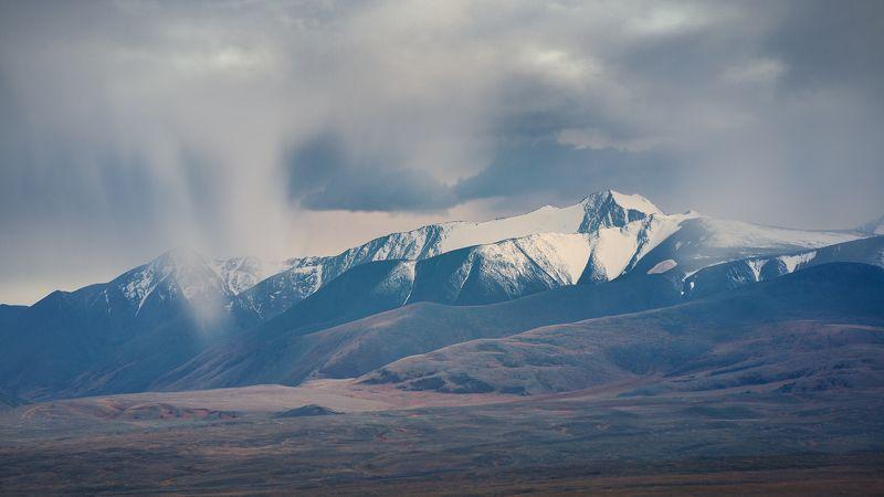пейзаж, природа, горы, дождь, непогода, идет, льет, облака, небо, сибирь, алтай, путешествие Сто лет погоду наблюдали. Такой, как нынче, не видали!photo preview