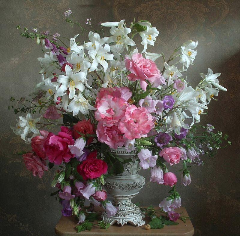 лето,  цветы, натюрморт, марина филатова Летняя симфония цветовphoto preview