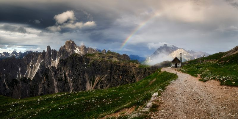 dolomites,italy Rainbowphoto preview