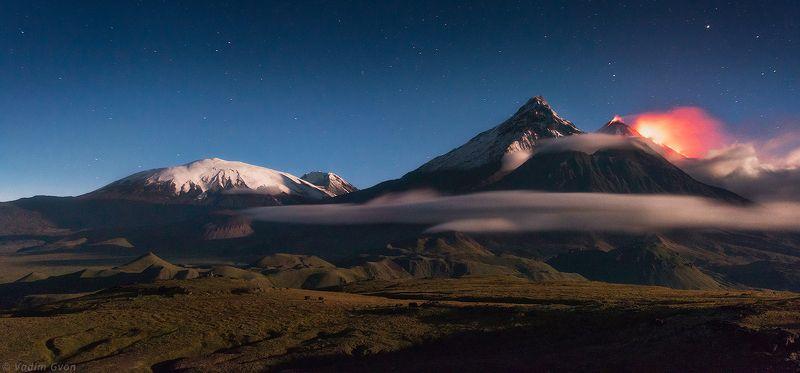камчатка, kamchatka, ключевская, извержениеключевской Извержение Ключевскойphoto preview