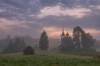 Глазово... Утро... Туман...