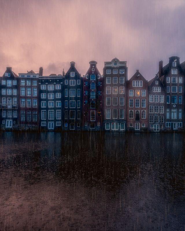amsterdam, rain, rainy, moody Rainy Amsterdamphoto preview