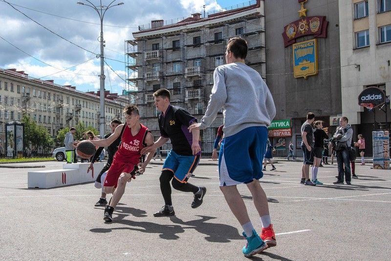 Репортаж,стритбол, День молодёжи photo preview