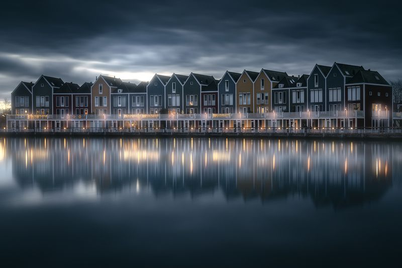 netherlands, Moody evening in the Netherlandsphoto preview