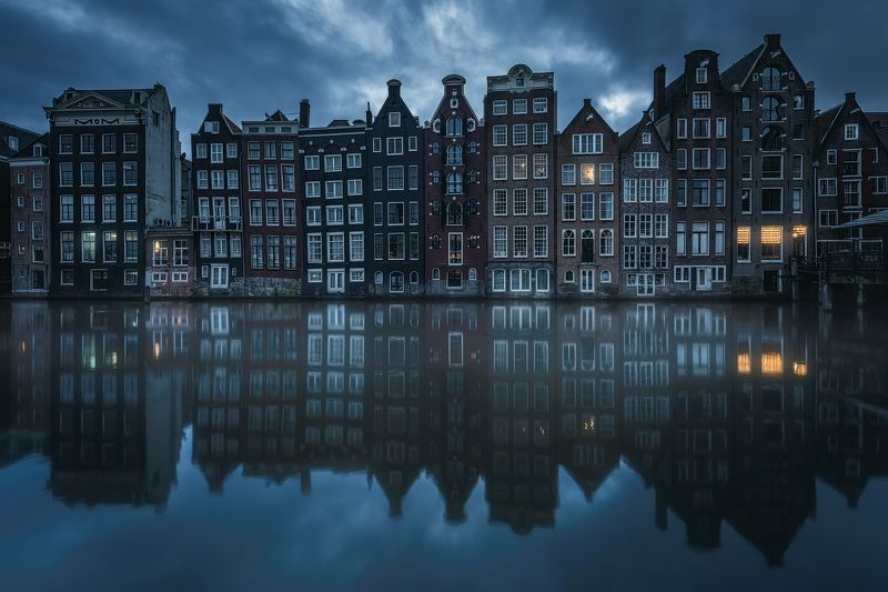 amsterdam, netherlands, moody, reflections Moody Amsterdamphoto preview