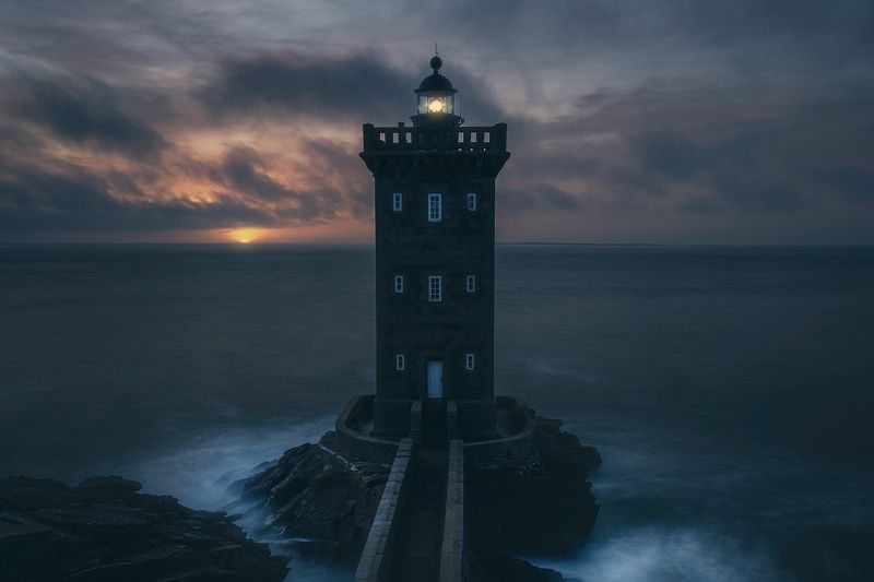 france, fishing, lighthouse, sunset, beautiful At Dawnphoto preview