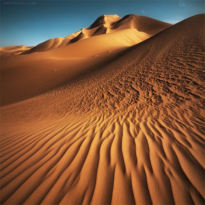 Abstraction. Squared Sahara Desert.photo preview