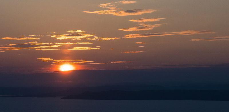 закат, море, Приморье, Владивосток, виды, солнце, небо, фотография 8:45 PMphoto preview