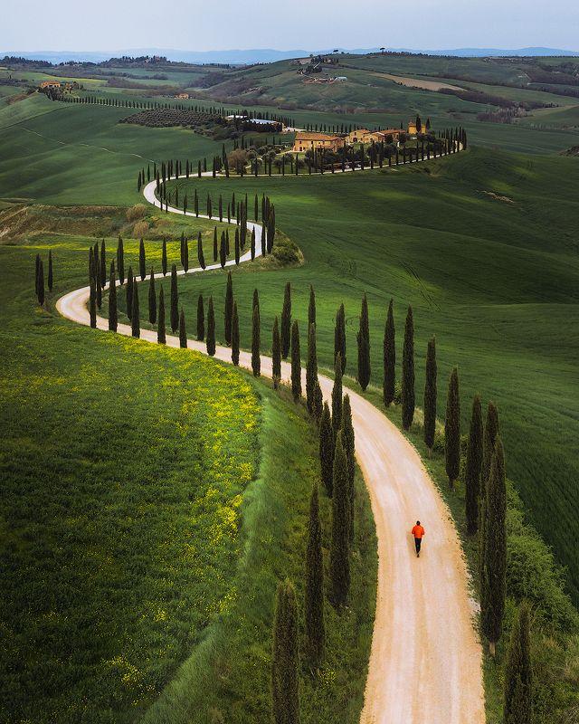 tuscany, italy Tuscany curvesphoto preview