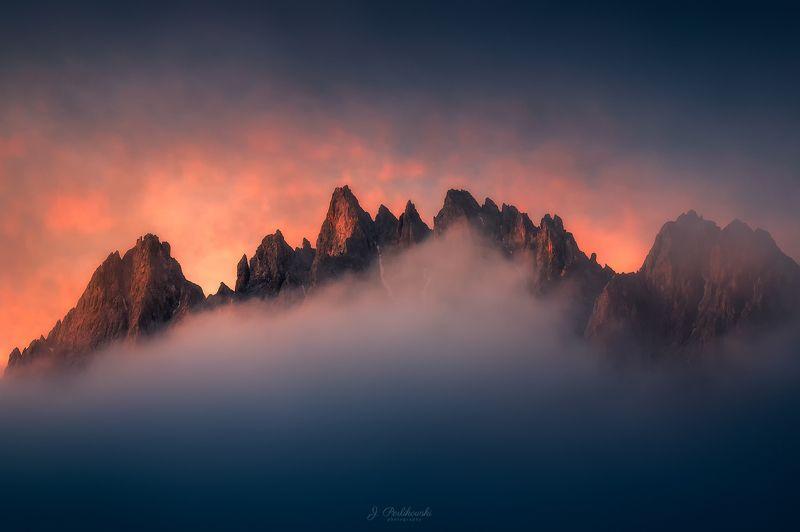 Morning in Dolomitesphoto preview