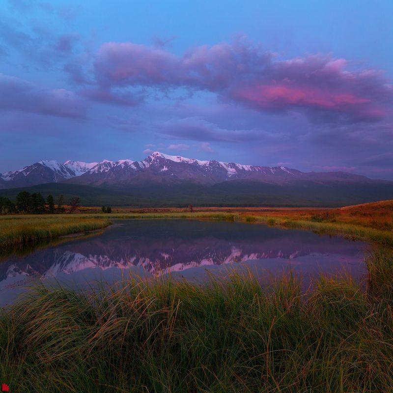 джангысколь,  алтай Утро на озере Джангыскольphoto preview