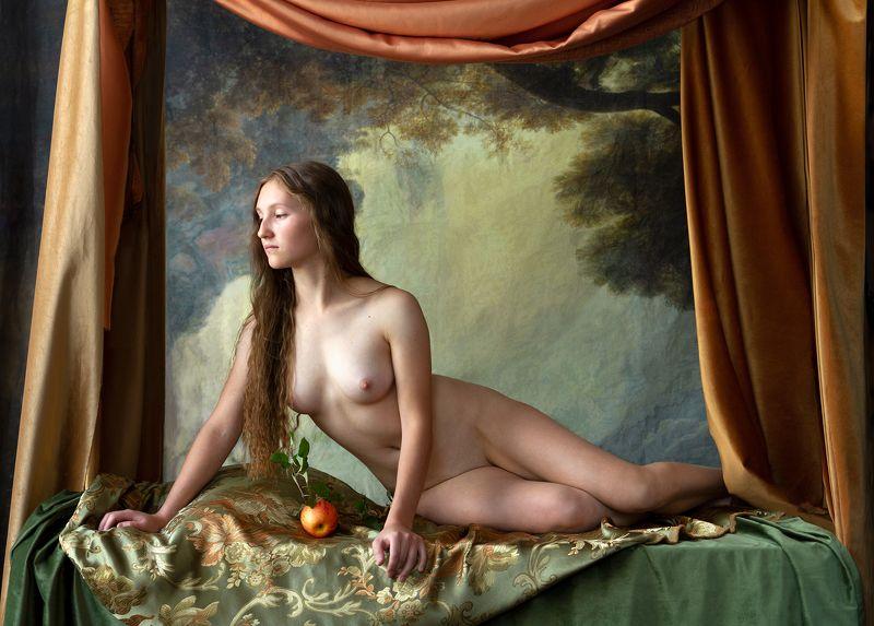 fine art nudes Ева в райском саду.photo preview