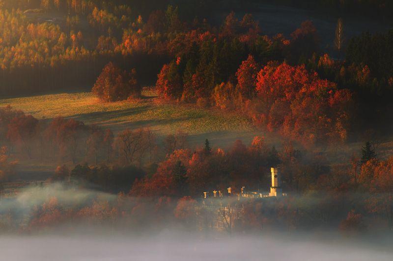 landscape,autumn,mountains,canon Autumn Castle...photo preview