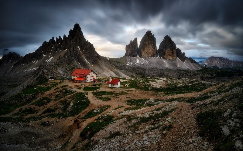 dolomites,italy Morning from Dolomitesphoto preview