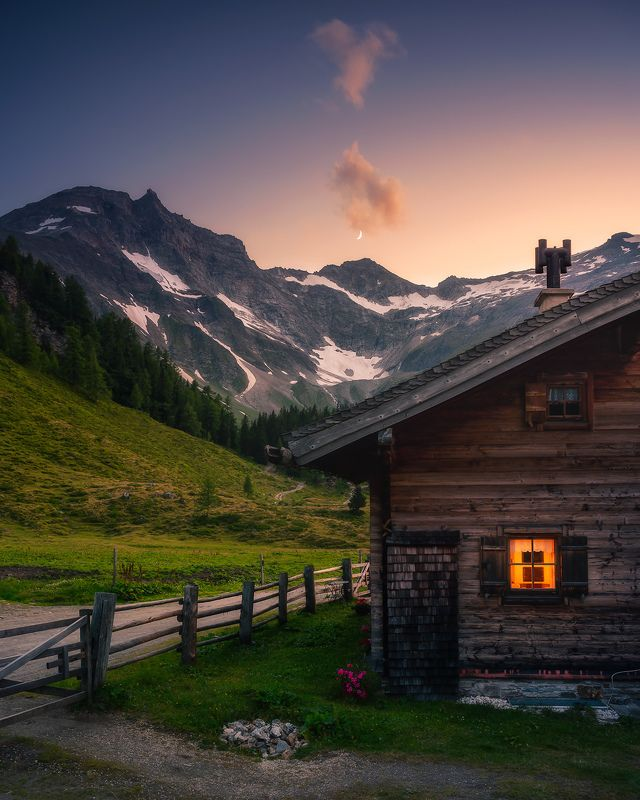 alps, travel, mountains Alpine huttephoto preview
