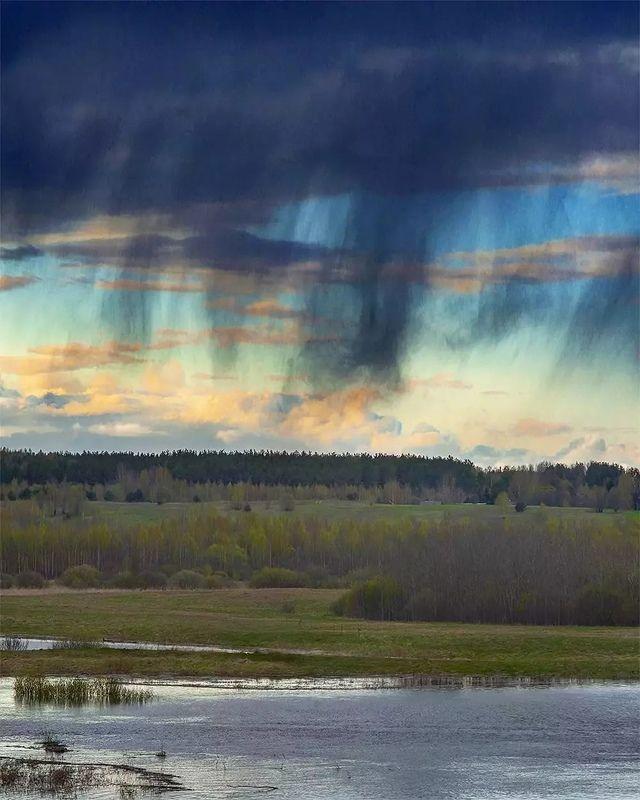 облака, небо, необычное Виргаphoto preview