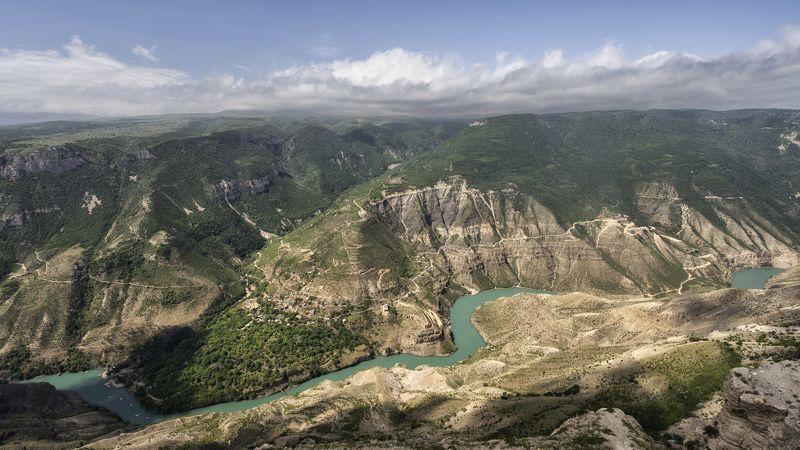 сулакский каньон, дагестан Сулакский каньон.photo preview