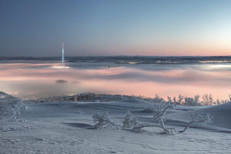 Город, Утро, Арктика Утро Арктикиphoto preview