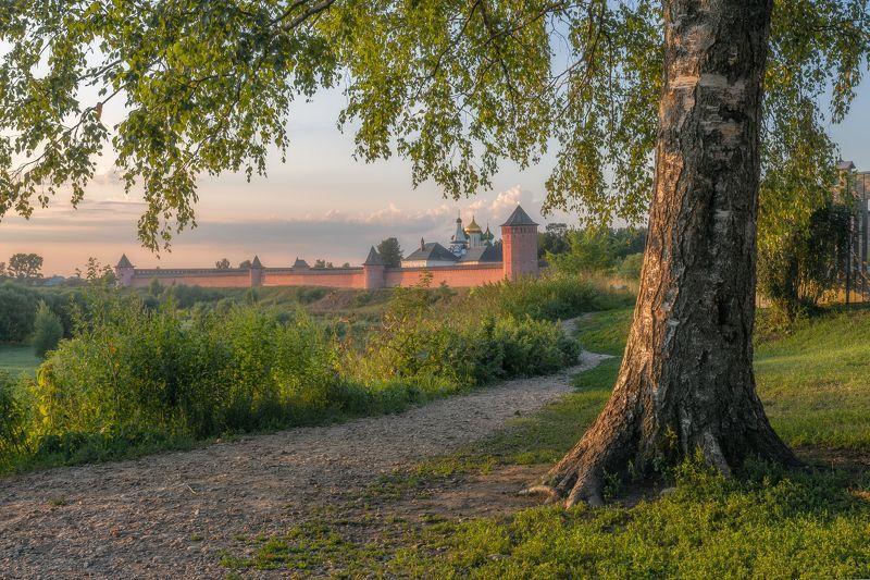 пейзаж, Суздаль, Владимирская область, лето, Россия, природа Суздальphoto preview