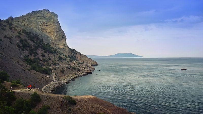 новый свет, море, горы, лето photo preview