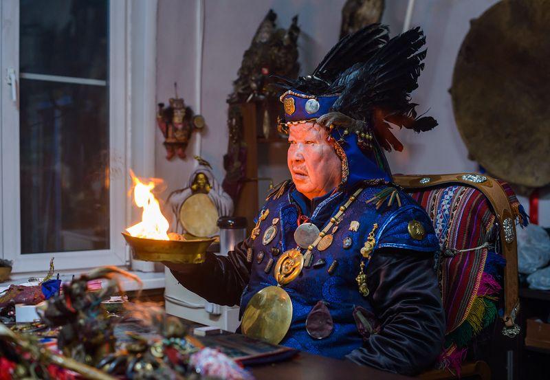 Шаман Тува тыва Верховный шаман ТУвы и РФphoto preview