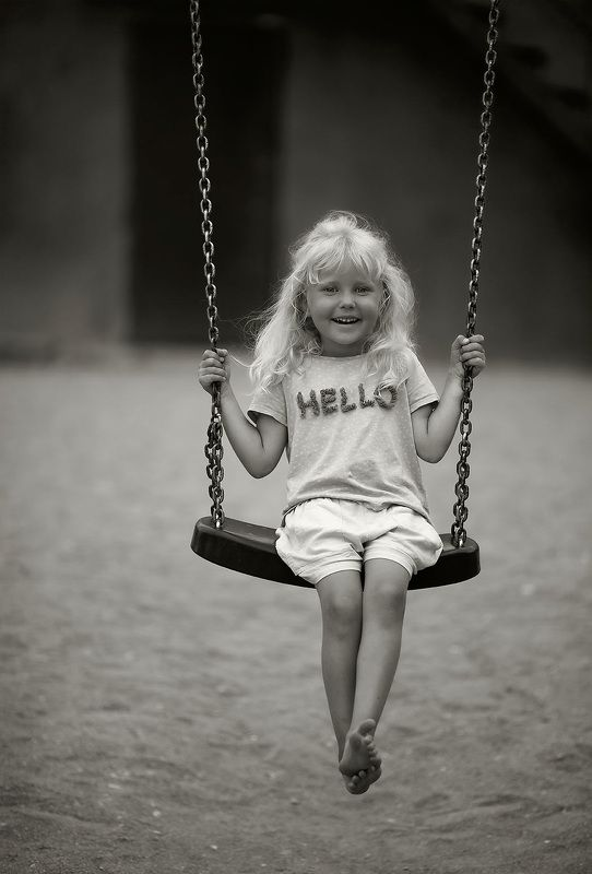 девочка, детство,качели,лето, эмоции, kids, childhood, swing,summer, nature, emotions Из серии- детствоphoto preview