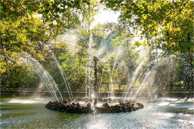 петергоф, фонтан, солнце Солнцеphoto preview