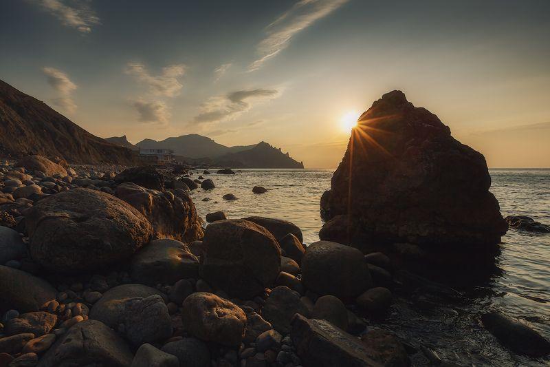 лето, море, карадаг. Камешки Карадага...photo preview