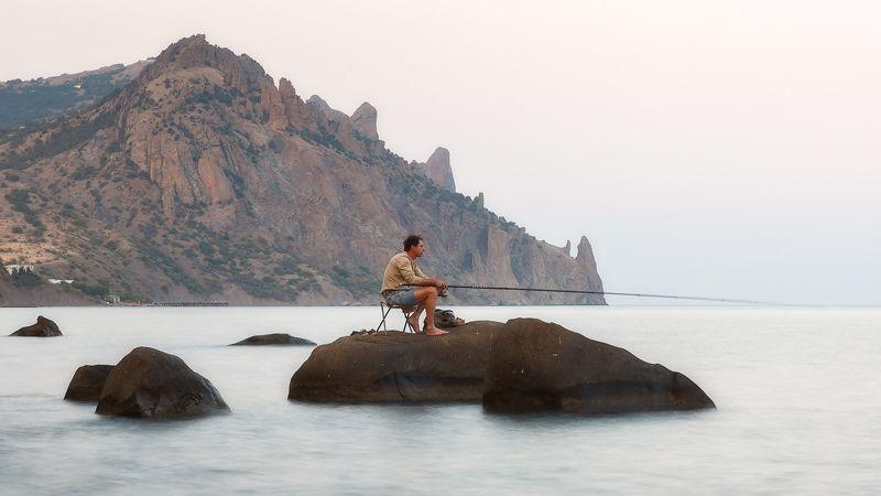 лето, море, карадаг. Клёвое место...photo preview