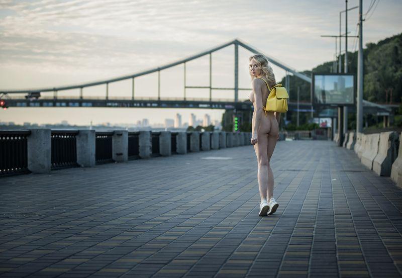 Жёлтый рюкзачок или прощай лето ;)photo preview