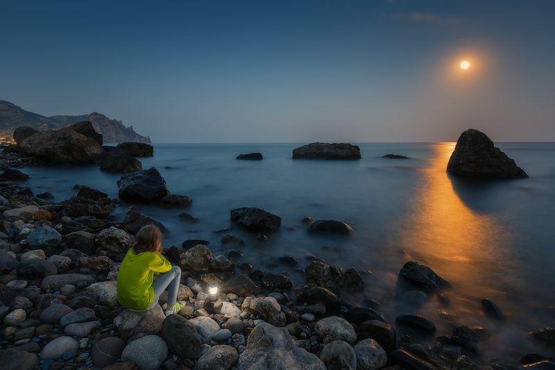 лето, море, карадаг. Курортное, Карадаг. Последний зачётный вечерок лета...photo preview