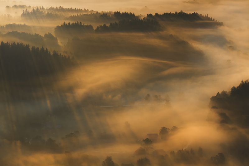 landscape,spring,mountains,canon A Beautiful Misty Morning... фото превью
