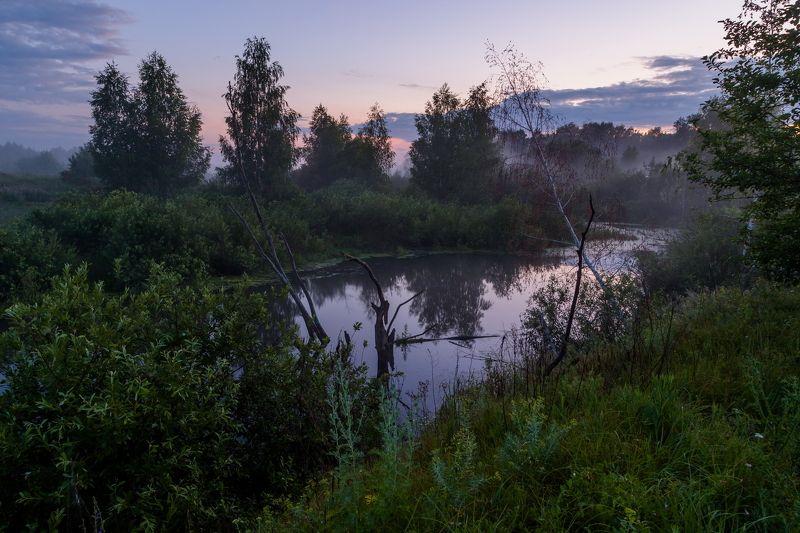 туман, ночь, река, пейзаж, природа Дыхание снаphoto preview