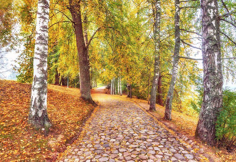 михайловское, пушкинские горы, осень, пушкинские места Осень В Михайловскомphoto preview