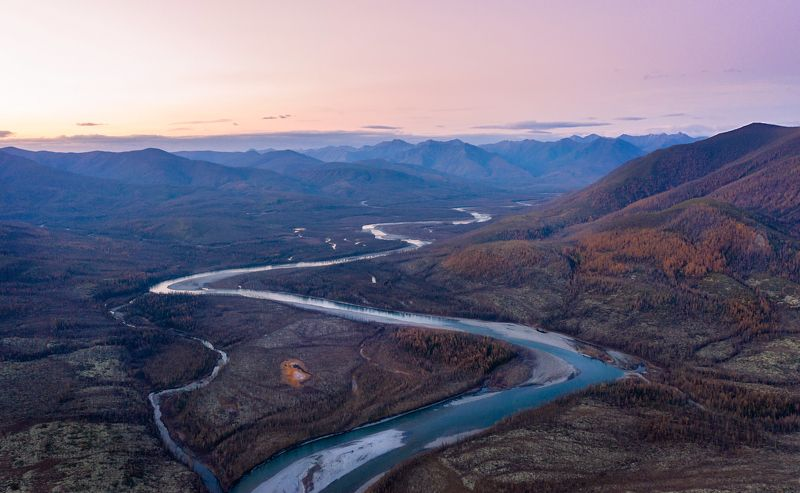 Река Восточная Хандыгаphoto preview