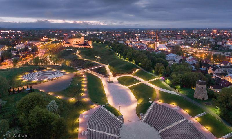 город, архитектура, эстония Городской пейзаж фото превью